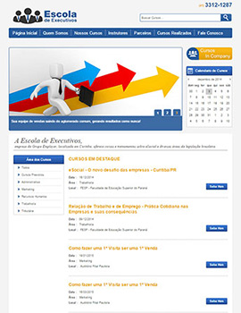 Site Escola Executivos Grupo Employer